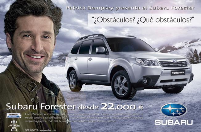 Patrick Dempsey Subaru