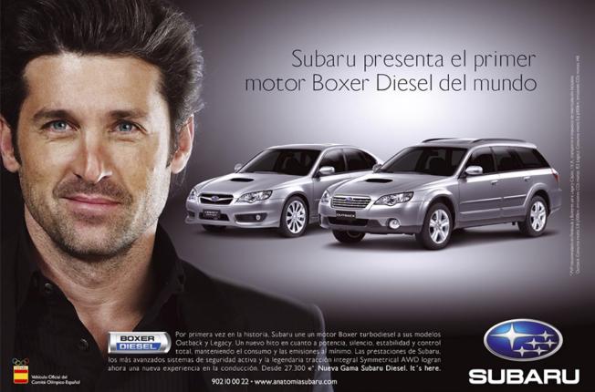 Subaru-Patrick-Dempsey