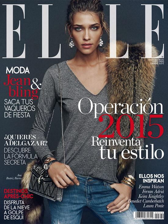 Portada Elle Spain 2015