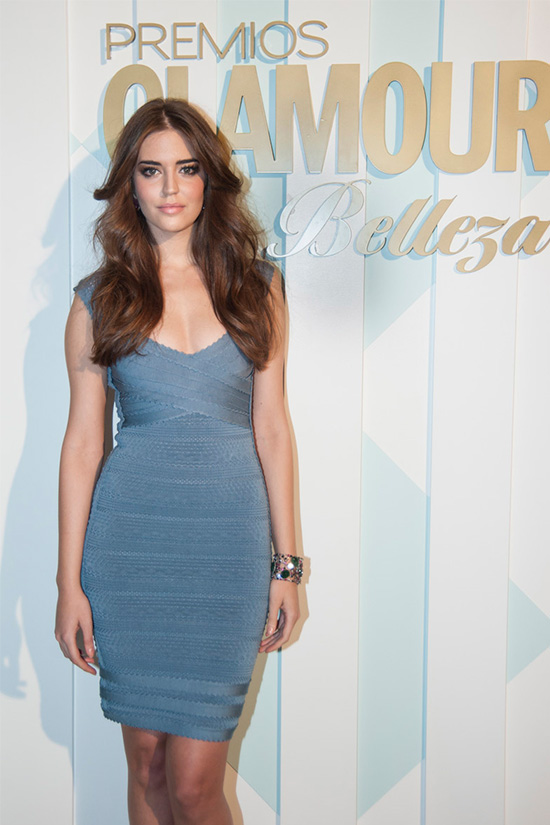 CLARA ALONSO - GLAMOUR BEAUTY AWARDS