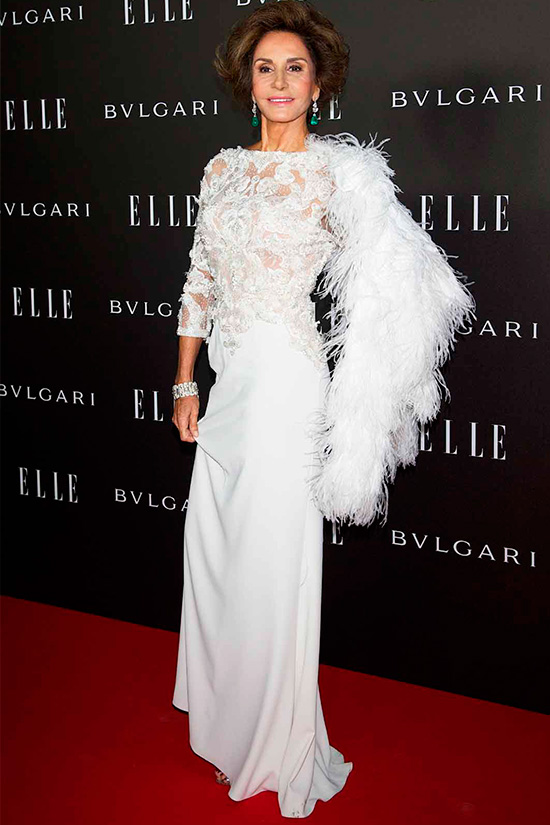NATI ABASCAL - ELLE AWARDS