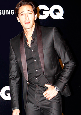 ADRIEN BRODY - GQ AWARDS SPAIN
