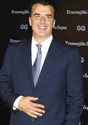 CHRIS NOTH - GQ ZEGNA AWARDS