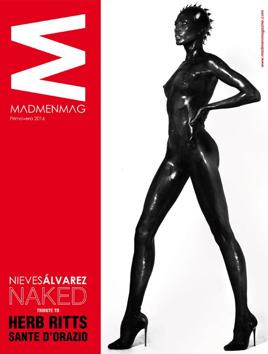 PORTADA MADMEN MAGAZINE NIEVES ALVAREZ