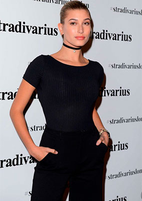 HALEY BALDWIN - STRADIVARIUS LONDON PAPER EVENT